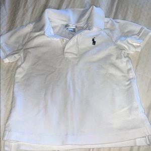 Ralph Lauren polo 2 button collar shirt 24months